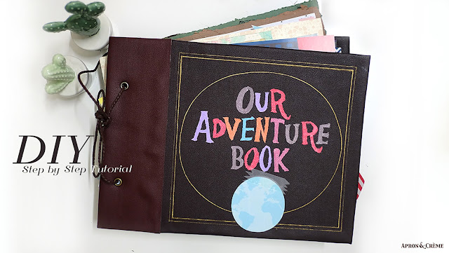 Our Adventure Book Cover Printable : Diy our adventure book cover inspired from disney pixar up