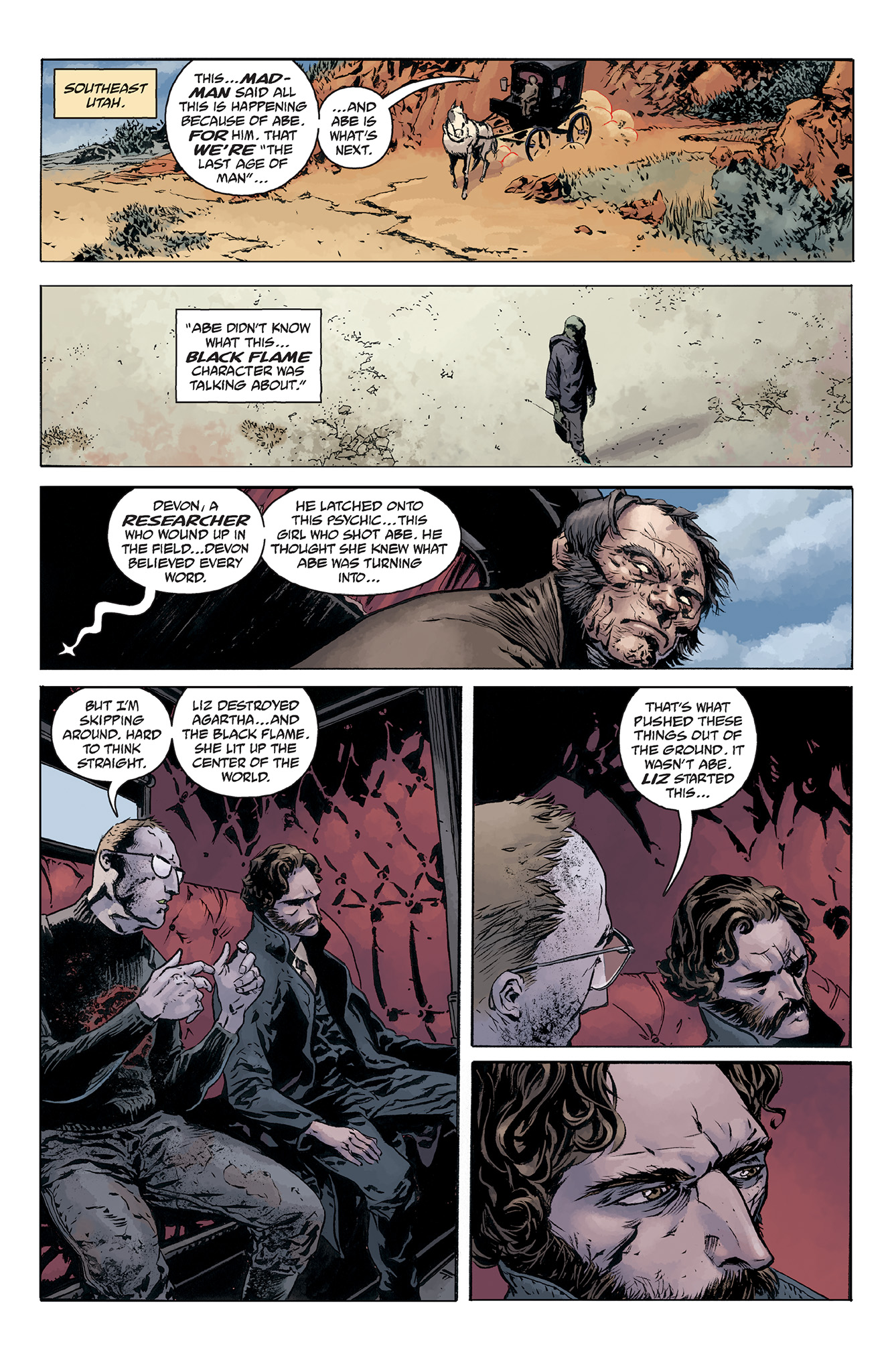 Read online Abe Sapien comic -  Issue #5 - 23