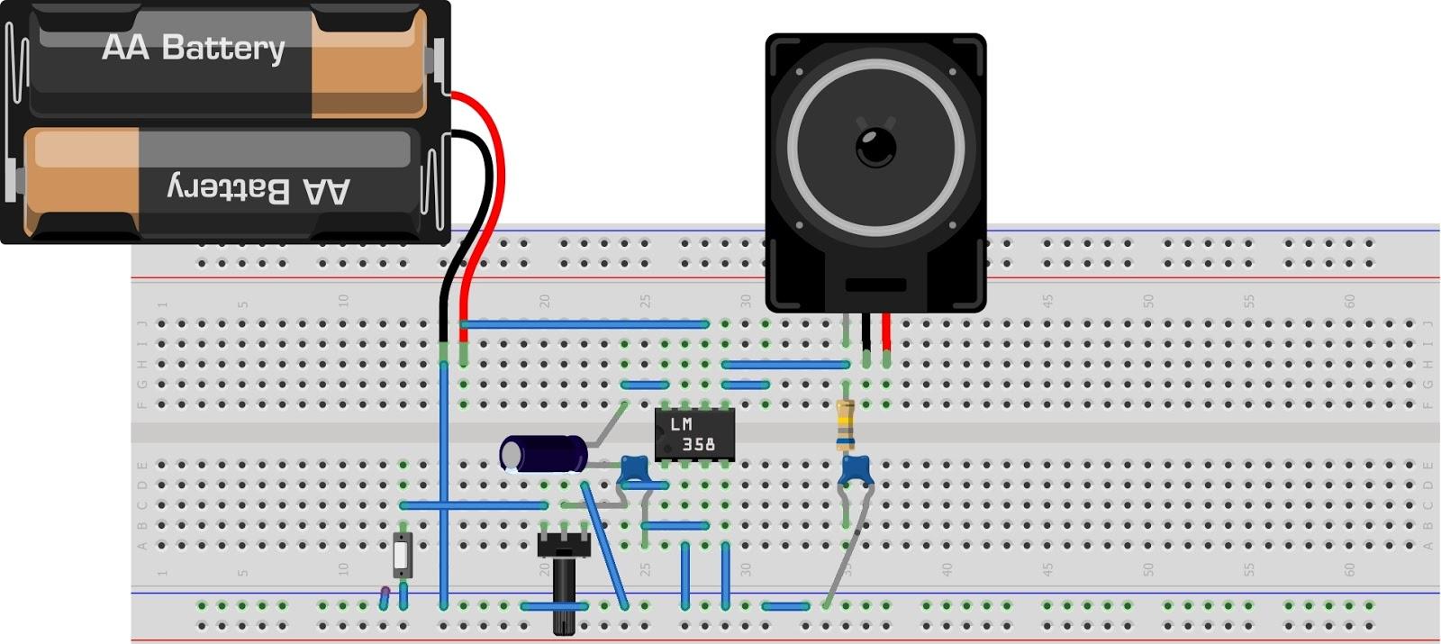 Audio Amp Schematic Breadboard Modern Design Of Wiring Diagram Lm386 Amplifier Circuit Sam Technology Professionals July 2013 Rh Samtechpro Blogspot Com Simple C2500 Ampwith