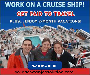 Job Opening On Cruise Ship October 2016  Seaman Job