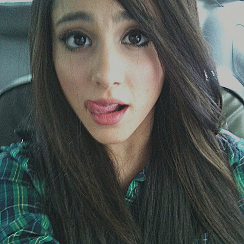 Ariana Grande Dark Brown Hair