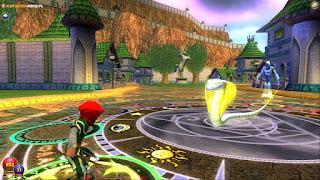 Animacja walki w Wizard 101 Online