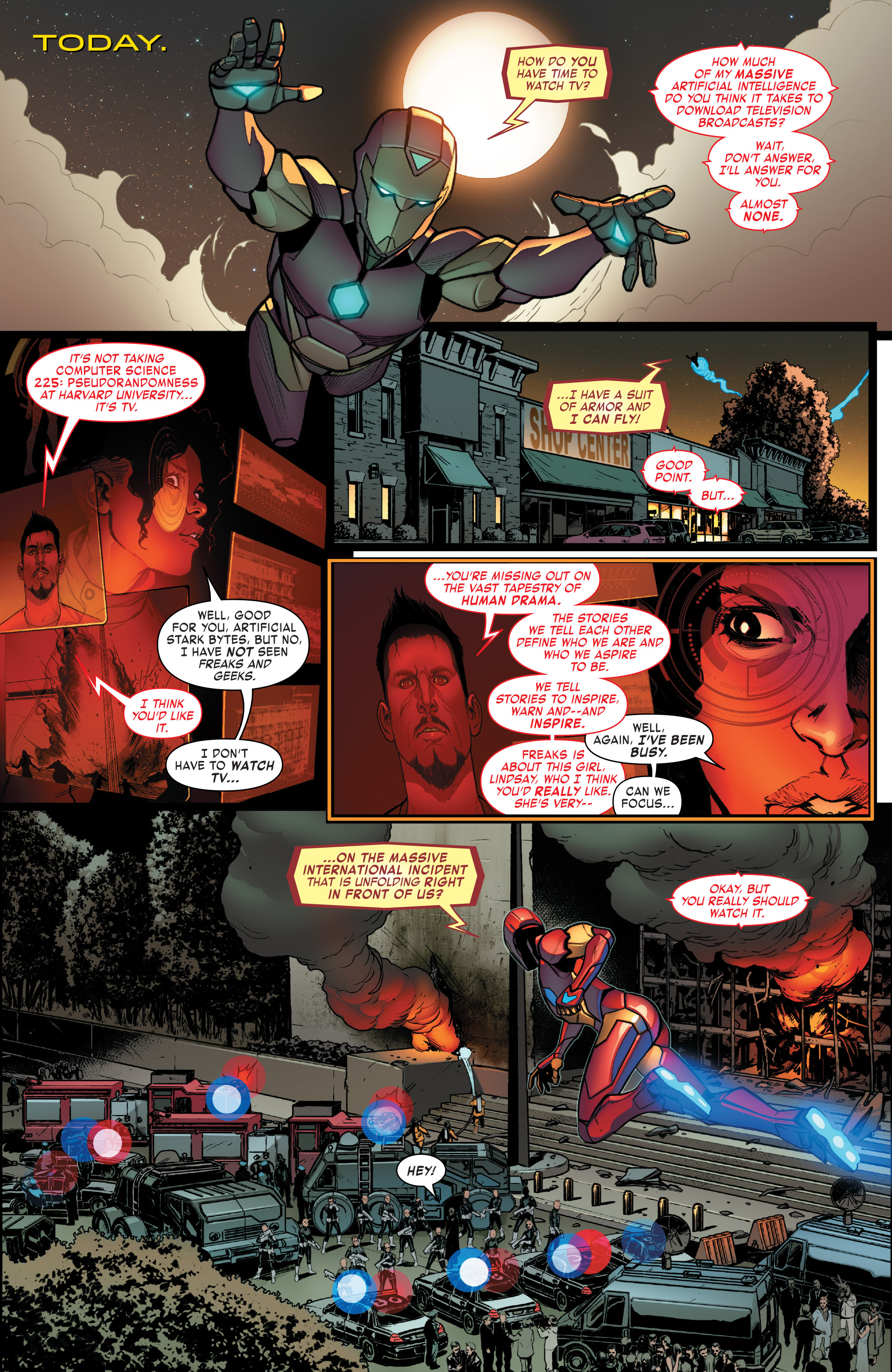 Read online Invincible Iron Man (2016) comic -  Issue #8 - 6