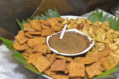 Tidak Johor kalau tiada tempeh dan tauhu cicah sambal kicap pedas