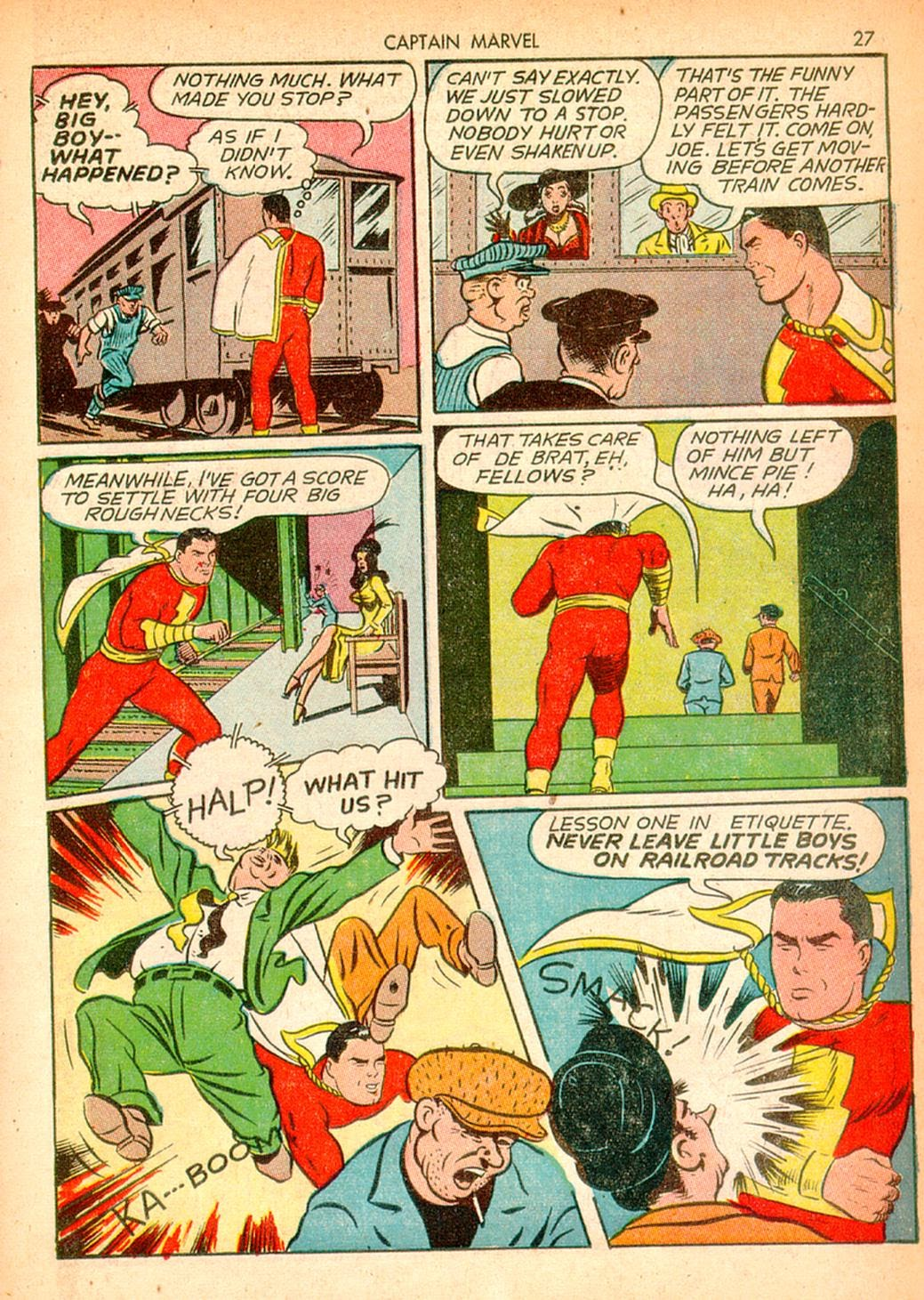 Captain Marvel Adventures issue 10 - Page 27