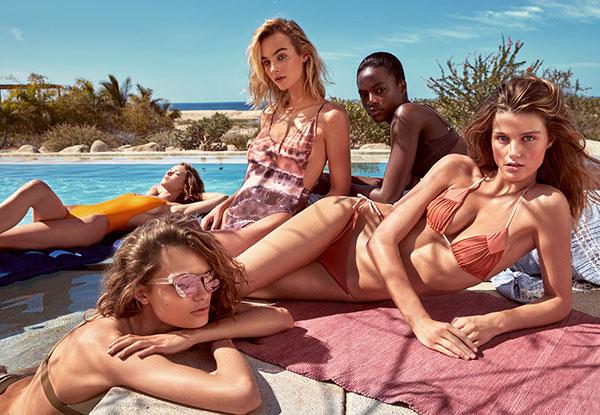 H&M The Summer Shop 2017 nueva colección de moda y baño