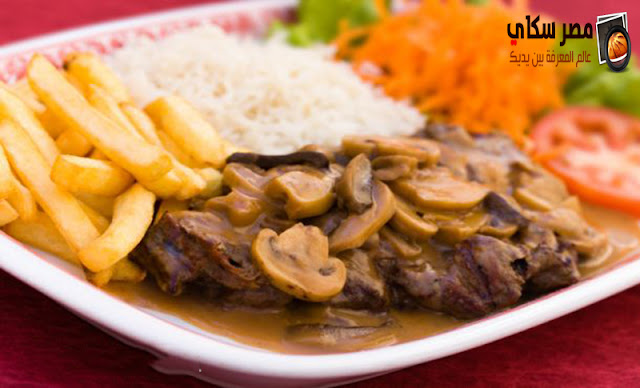 شرائح الستيك مع الأرز بالصويا وخطوات التحضير