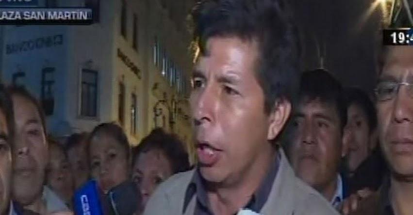 Grupo de docentes desconoce al Sutep y a dirigentes regionales como sus representantes