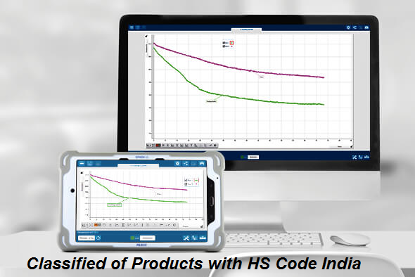 Classified of Products with HS Code India