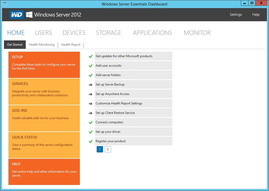 Unit34 co: Connecting to Windows Server 2012 R2 Essentials