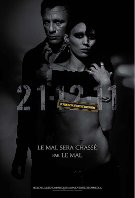 Locandina di The Girl With The Dragon Tattoo