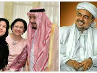 (Video) Megawati Selfie dengan Raja Arab, Habib Rizieq: Ternyata Cinta Arab Juga Dia, Netizen Ngakak