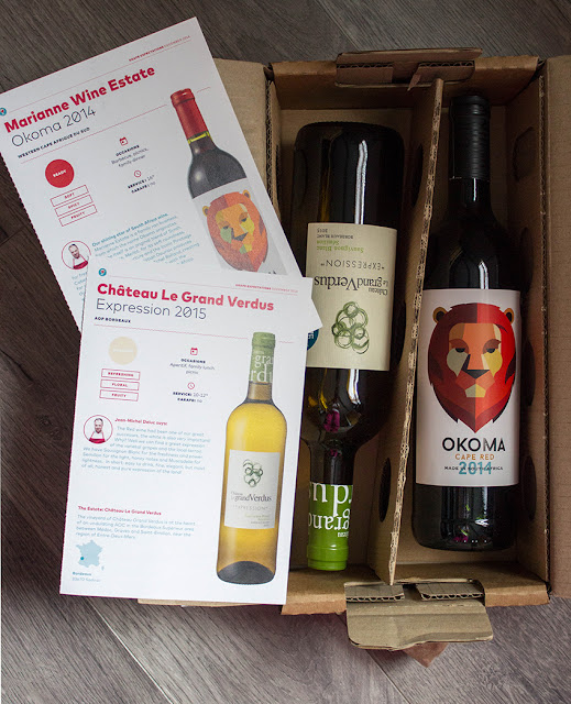 Delivery Box from Le Petit Ballon Wine