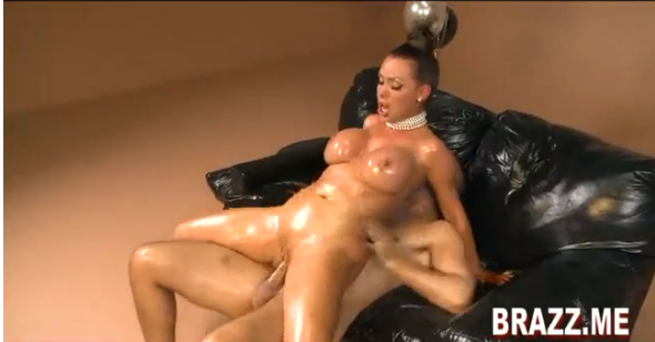 Sandy and lesbian porn star