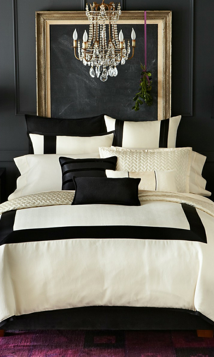Wall Color Black 56 Examples Of Successful Interior