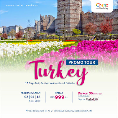 Festival Tulip Turkey 10 Days 2019