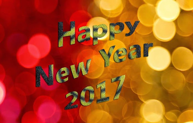 Happy New Year 2017 HD Wallpaper 5