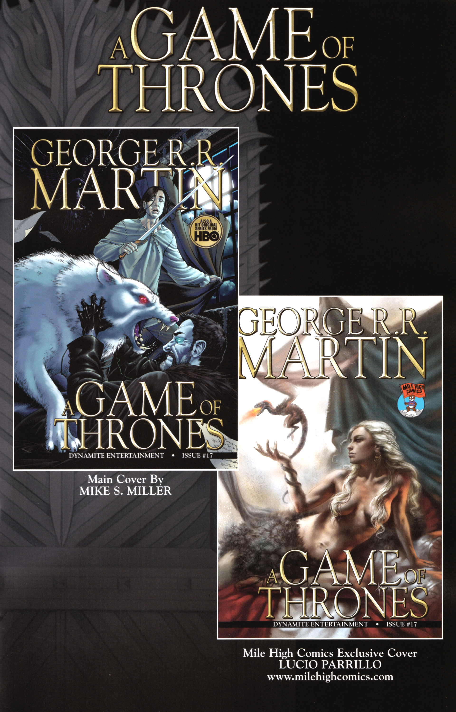 Read online A Game Of Thrones comic -  Issue #17 - 35