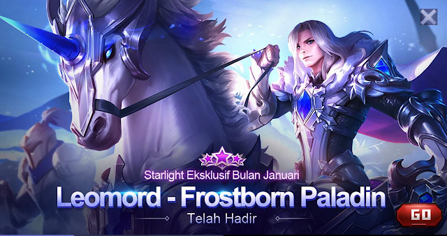 Tutorial Mendapatkan Skin Starlight Leomord Frostborn Paladin Mobile Legends 1