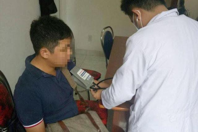 Phóng viên báo Người Lao Động tác nghiệp cũng bị vạ lây