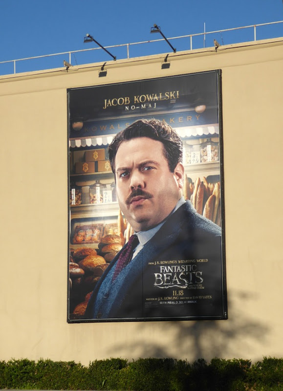 Jacob Kowalski Fantastic Beasts billboard