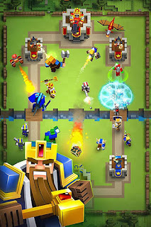 Royale clans: Clash of wars Mod APK + Official APK Updated Terbaru