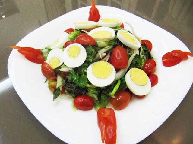 Cách làm salad trộn dầu dấm thơm ngon dễ làm