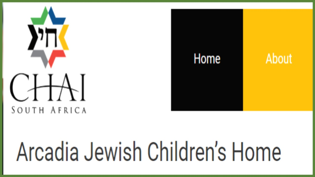 Arcadia JEWISH Children's Home (South Africa)