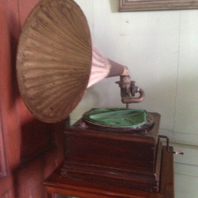 Gramophone at the Don Bernardino Jalandoni Ancestral House and Museum