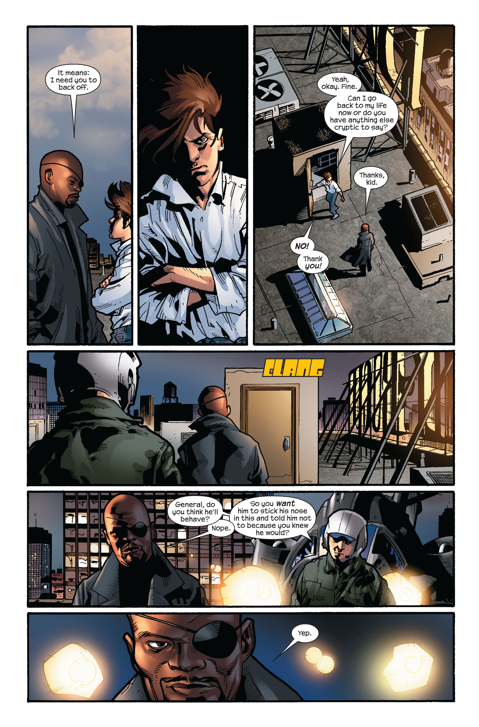 Read online Ultimate Spider-Man (2000) comic -  Issue #124 - 21