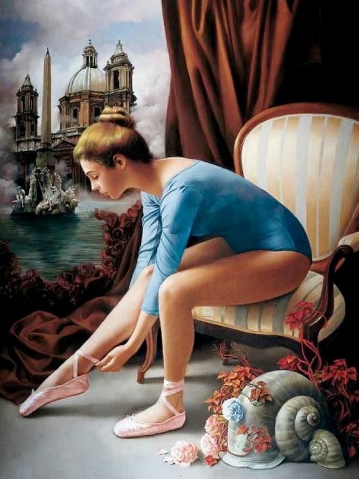 художник-реалист. Bruno Di Maio
