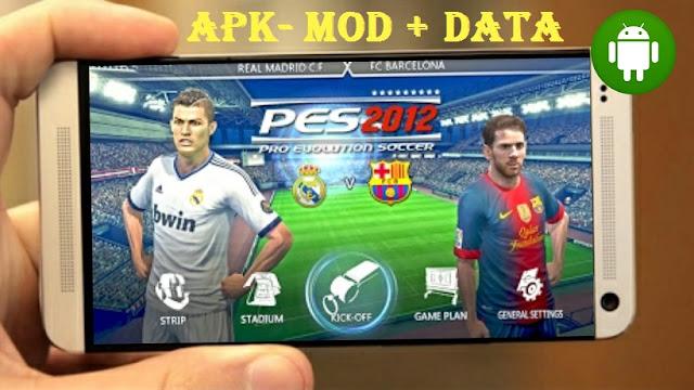 Download PES 12 Pro Evolution Soccer 2012 Apk Mod Data