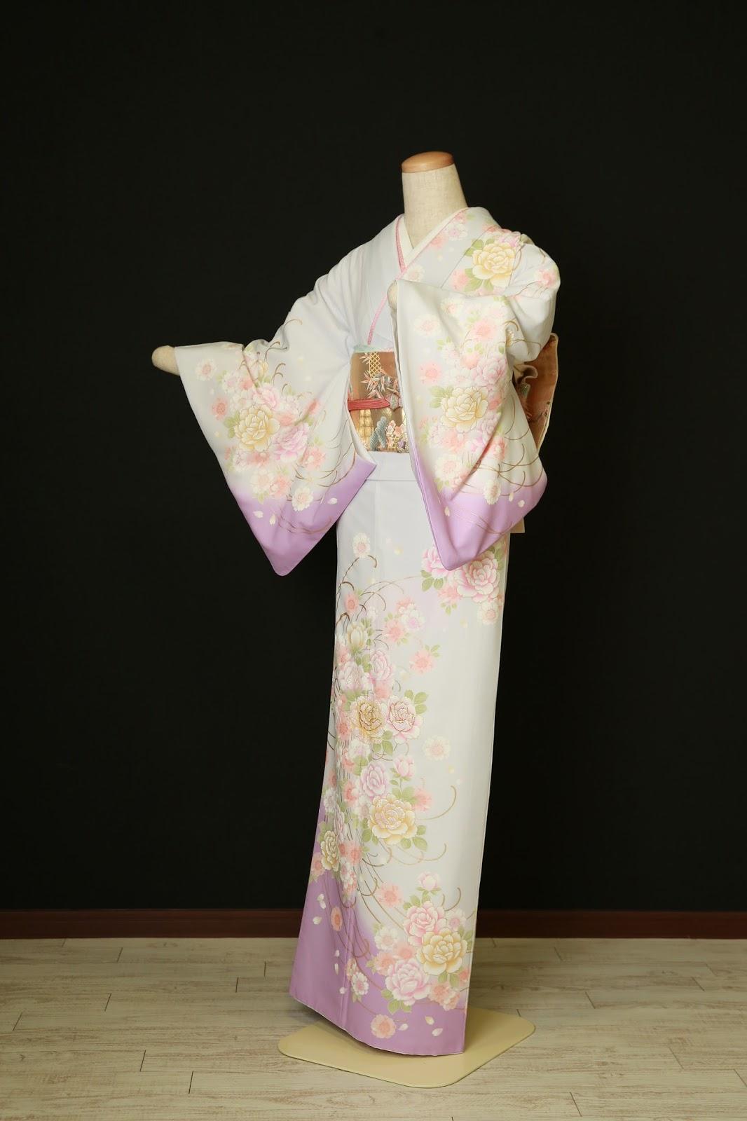 衣装カタログ   スタジオパセラ横浜関内店   SH-003紫 着丈162cm/裄69cm※帯・小物類はイメージの為、写真とは別の物になる場合があります。