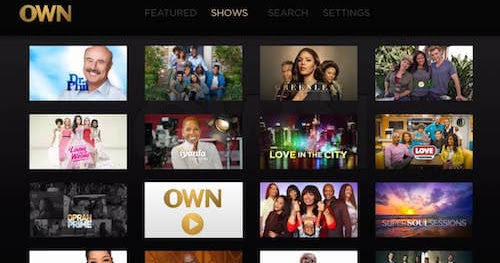 Watch OWN on Roku