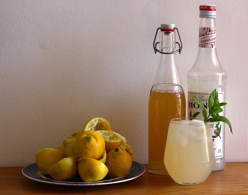 almond presse orgeat spritzer recipe | Oyster and Pearl blog