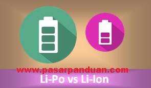 perbedaan baterai laptop li-po dan li-ion