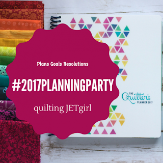 QuiltingJetGirl's 2017 Planning Party