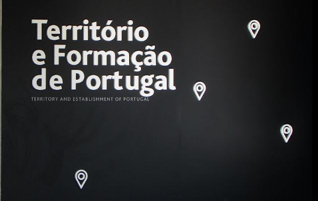 Painel indicativo sobre a formação de Portugal