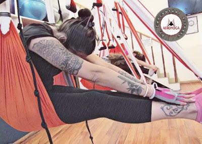 Columpio YOga Teacher Training, hamaca, hamac, balaçoire, trapecio, trapeze, swing, fly, flying, airyoga