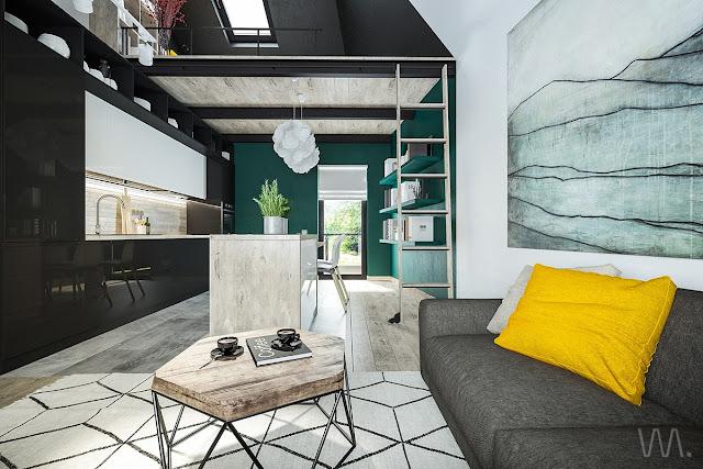 Ruangan Rumah Gaya Compact