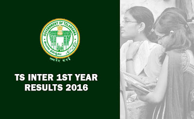 TS Telangana Inter 1st Year Results 2016 TS State Intermediate First Year Results 2016 announced today TS Inter 1st year Results 2016 TS Inter 1 st Year Results 2016 with Marks by Name wise subject wise marks list Telangana Intermediate 1st year and 2nd year results 2016 will be released on 22 nd or23rd April 2016. Latest Inter Results