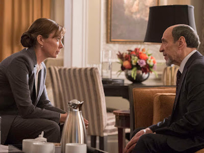 F. Murray Abraham and Elizabeth Marvel in Homeland Season 6 (6)