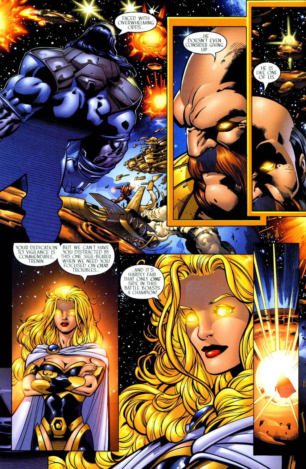 Read online Sigil (2000) comic -  Issue #11 - 9