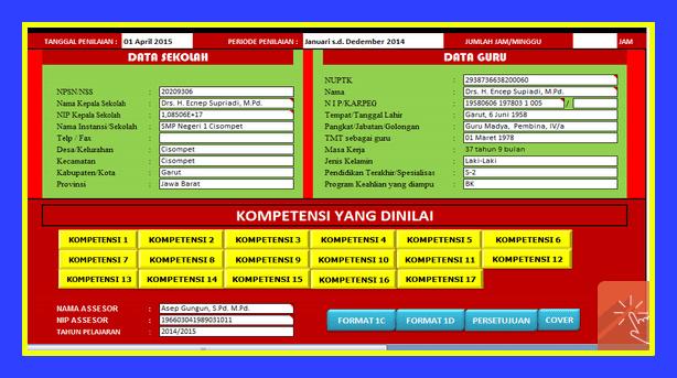 Aplikasi Administrasi Guru Dan Agenda KBM Versi Terbaru