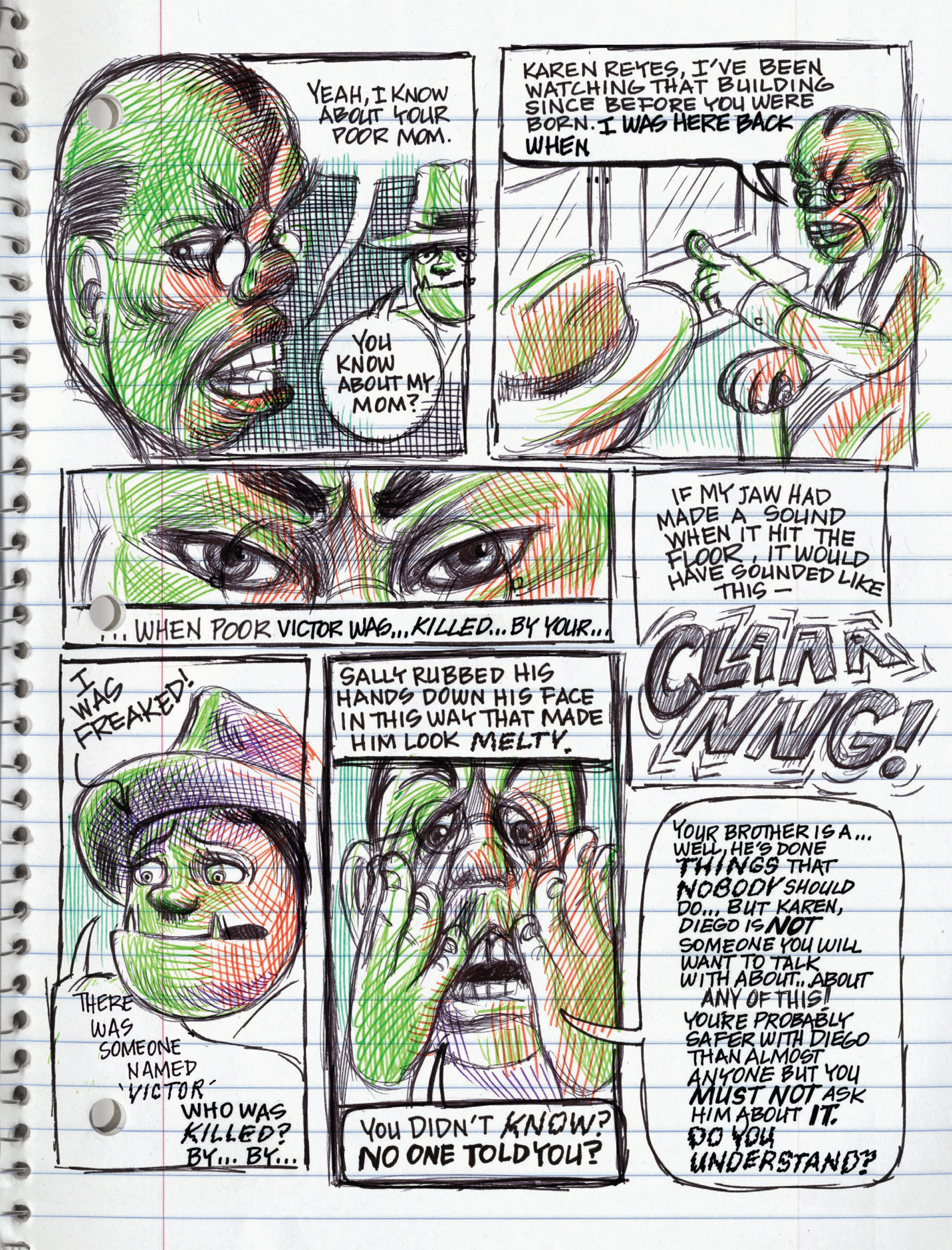 Read online My Favorite Thing is Monsters comic -  Issue #1.5 - 166