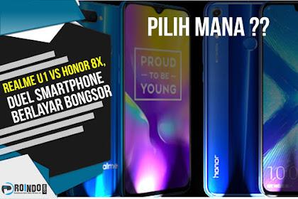 Pilih mana Realme U1 vs Honor 8X, Duel Smartphone Berlayar Bongsor