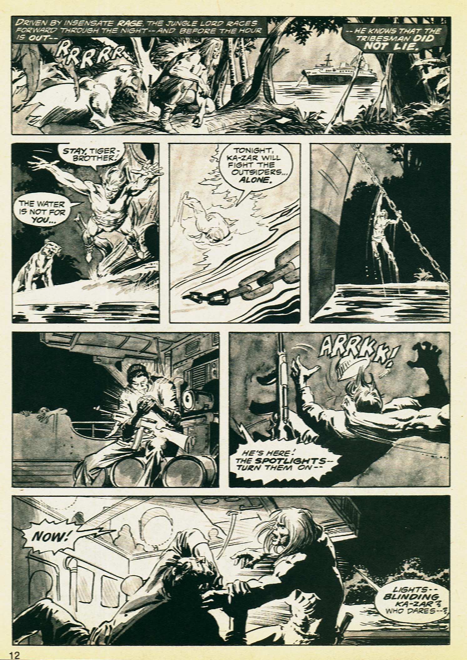 Savage Tales issue 8 - Page 10