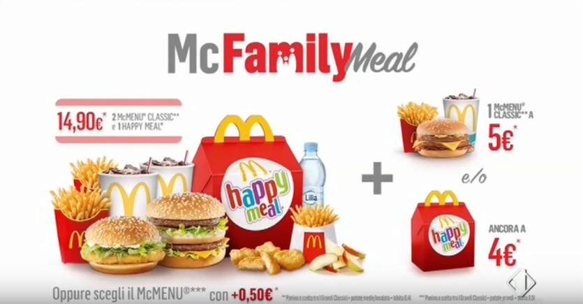 Canzone Mc Family Meal McDonald's pubblicità in famiglia si fa tutto insieme - Musica spot Novembre 2016