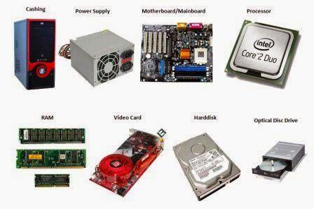 gambar komponen komputer rakitan