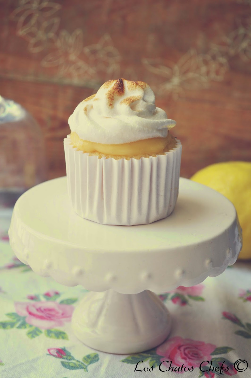 lemon and meringue cupcakes